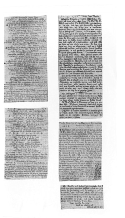 Sample image that contains several newspaper clippings.